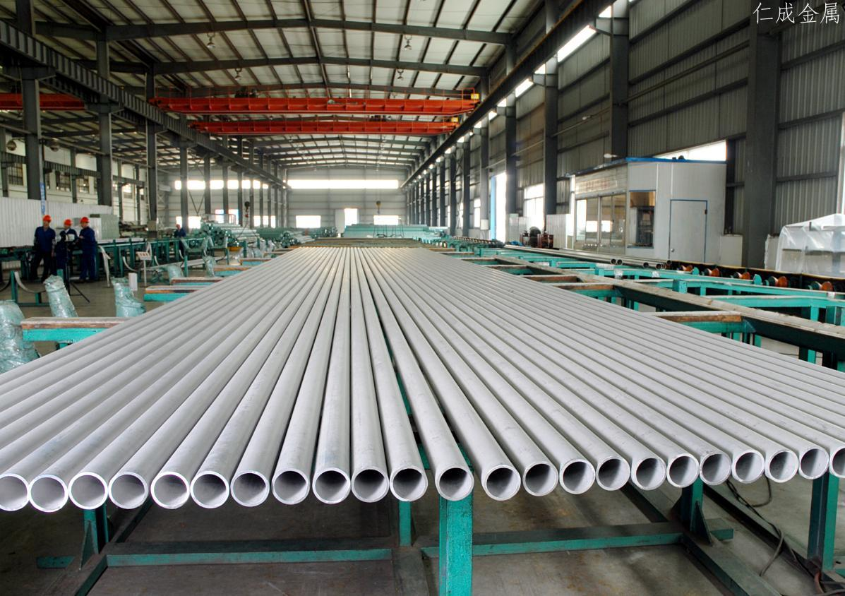 仁成金属-钢管生产车间