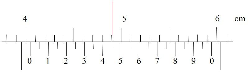 游标卡尺读数练习