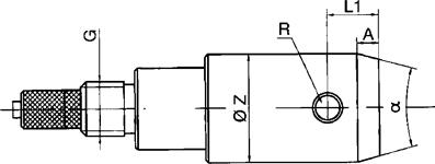 带有导向圆锥的BMD塞规式测头