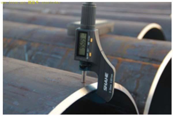 检测钢管厚度