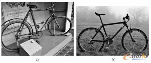 自行车作为轻量化示例