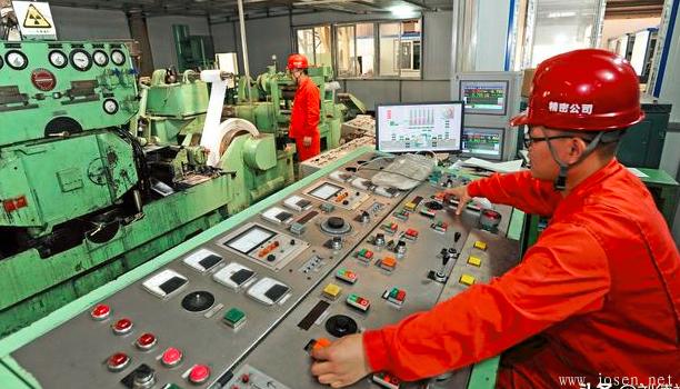 东北特钢成功生产GH600高温合金薄带 厚度仅0.05毫米!