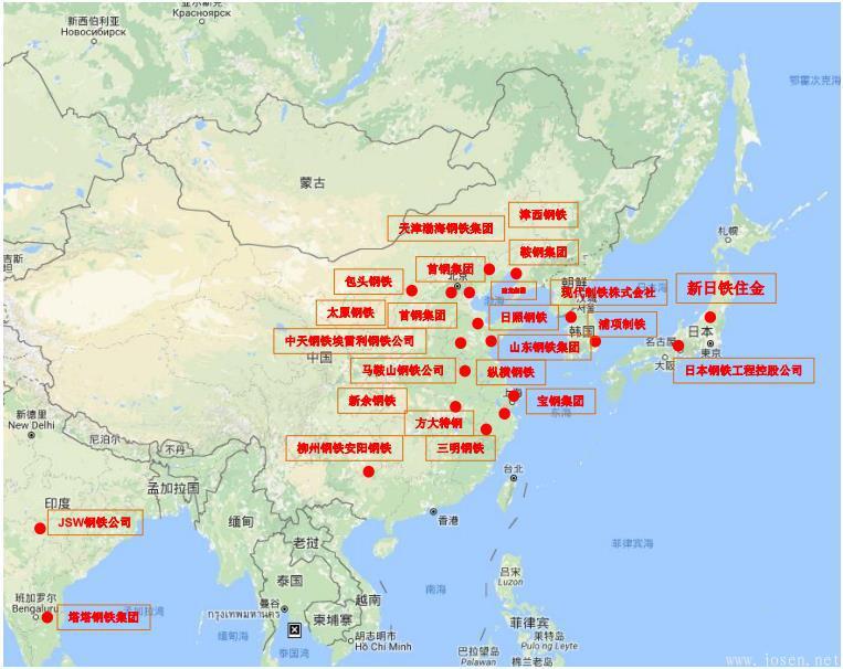 钢铁生产商全球分布-亚洲.jpg